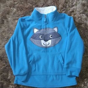 Casters toddler pullover fleece